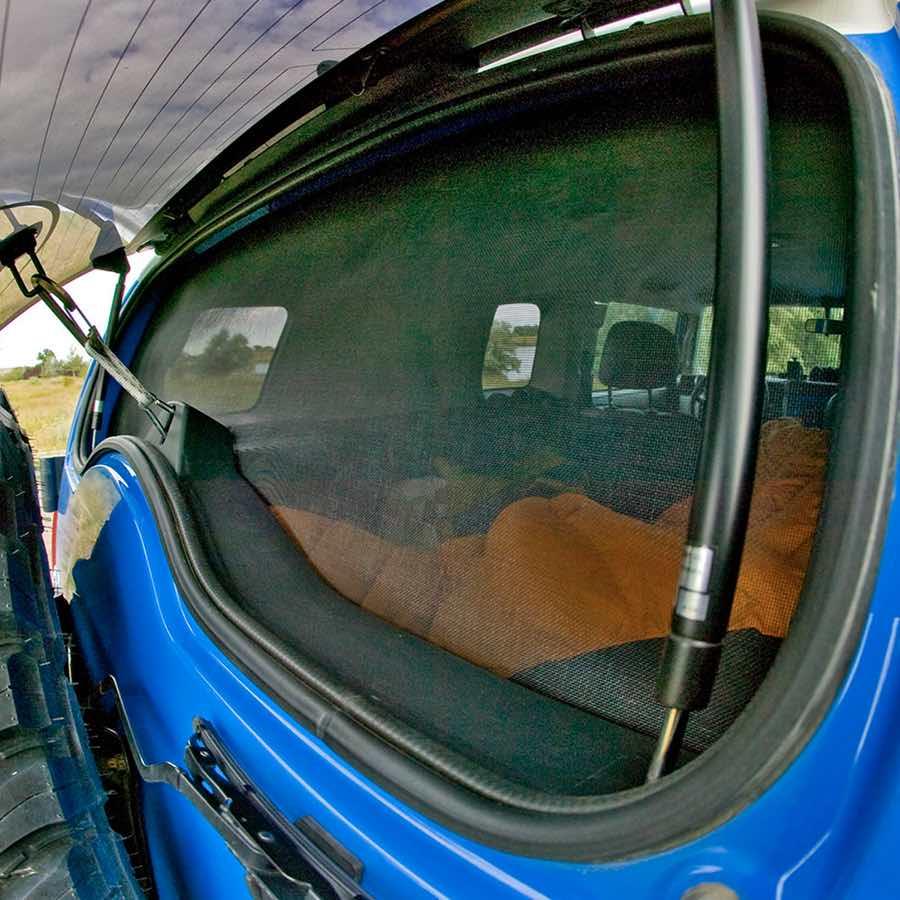 diy window screen for -van car 4wd 3