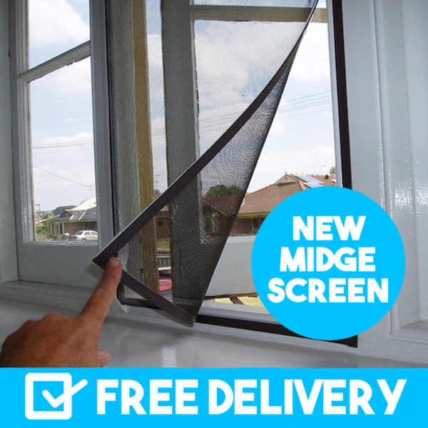 where to buy midge flyscreen australia